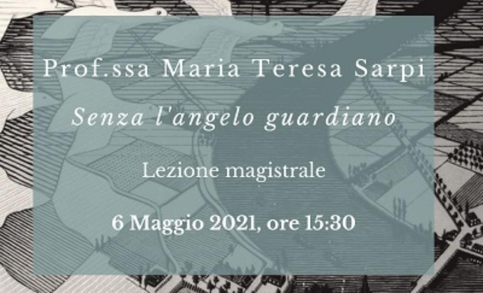 In Viaggio con Dante - Incontro con la Porf.ssa M.T. Sarpi