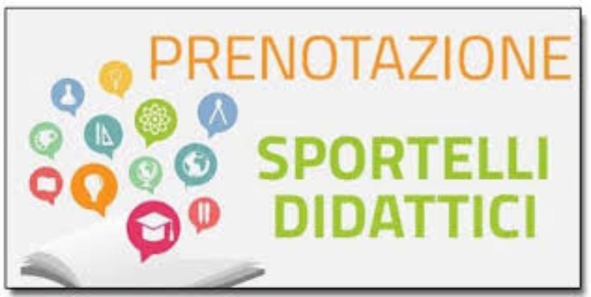 Prenotazioni Sportello Didattico a Distanza