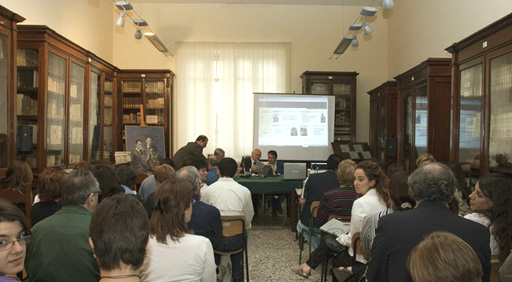 La Biblioteca 'Nicola Zingarelli'